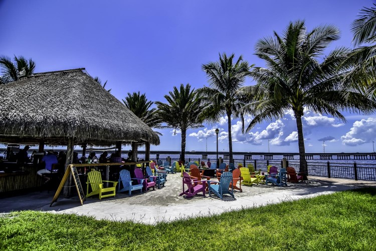 Charlotte County's sunny, sub-tropical climate means that you can enjoy your favorite outdoor activities all year round — boating, golfing, riding, fishing, or just relaxing at the Tiki Bar on the waterfront.