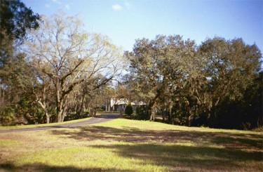 Prairie Creek Estates home on a wooded lot
